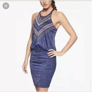 Athleta Estuary Aqualuxe Swim Dress Size L NWOT